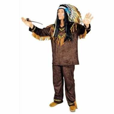 Feest indianen verkleedcarnavalskleding voor heren