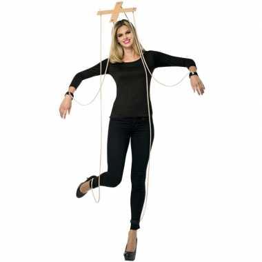 Feest marionette verkleedcarnavalskleding kruis
