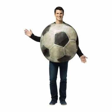 Feest voetbal verkleedcarnavalskleding voor volwassenen