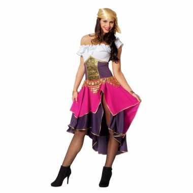 Feest zigeunerin verkleedcarnavalskleding voor dames