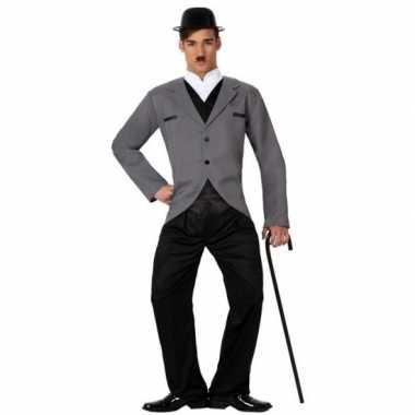 Filmster charlie verkleed carnavalskleding voor heren