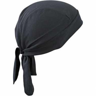 Fitness bandana zwart