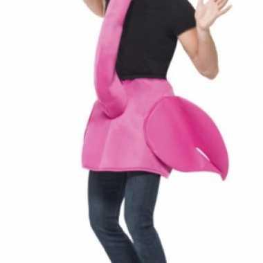 Flamingo feestcarnavalskleding