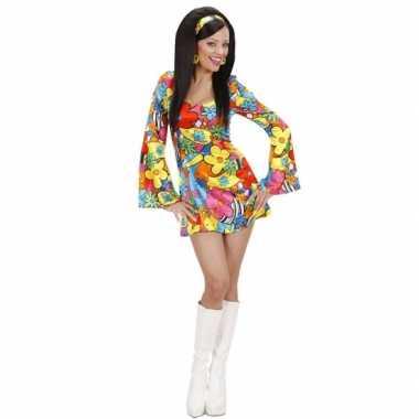 c0d80e08d4c079 Flower power jurkje voor dames