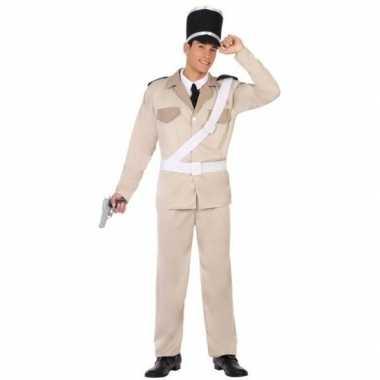Franse gendarmerie/politie verkleed pak/carnavalskleding voor volwass