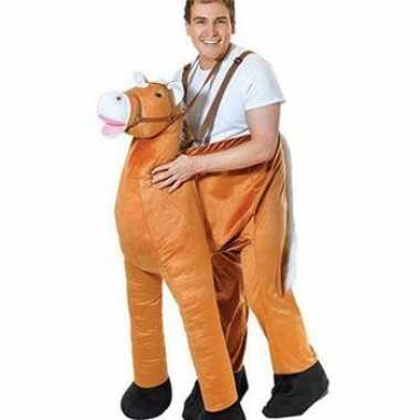 Funny instap paarden carnavalskleding