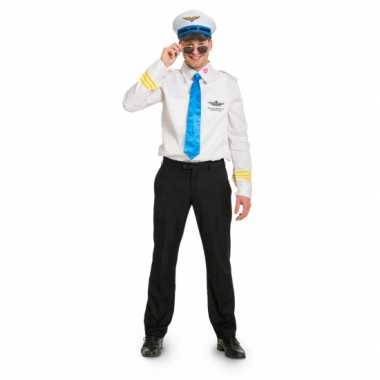 Funny piloot carnavalskleding voor heren
