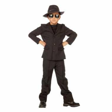 Gangster carnavalskleding voor kids