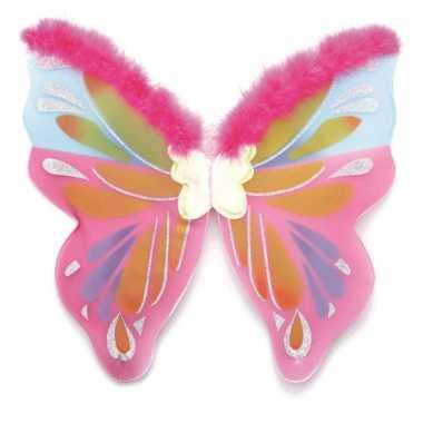 Gekleurde vlinders vleugels
