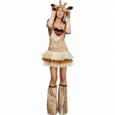 Giraf verkleedcarnavalskleding voor dames