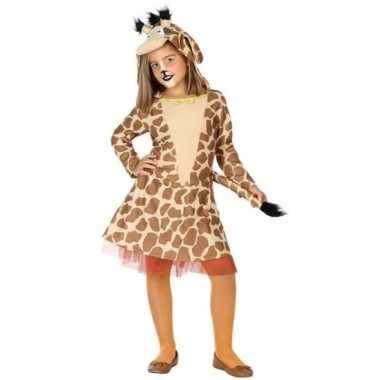 Giraffe carnavalskleding voor meisjes