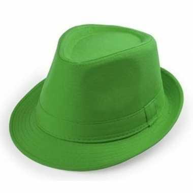 Goedkope groene verkleed hoedjes voor volwassenen