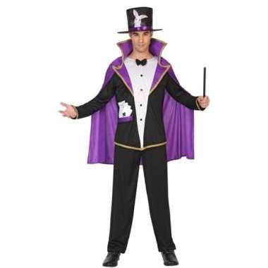 Goochelaar verkleed pak/carnavalskleding voor volwassenen