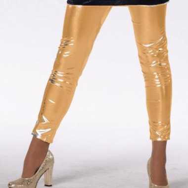 Gouden legging voor meiden