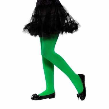 Groene legging voor kinderen 6 12 jaar