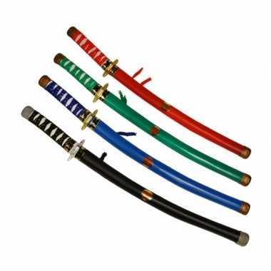Groene ninja zwaarden