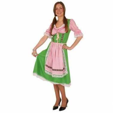 Groene oktoberfest carnavalskleding voor dames