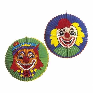Grote clowns lampion rond