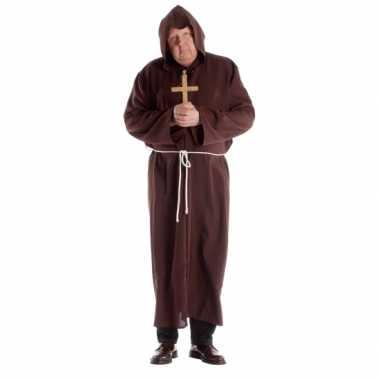 Grote maat klooster carnavalskleding voor volwassenen
