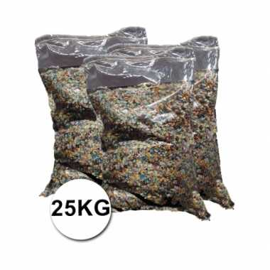 Grote verpakking confetti snippers ca. 25 kilo