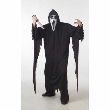 Halloween scream carnavalskleding grote maat