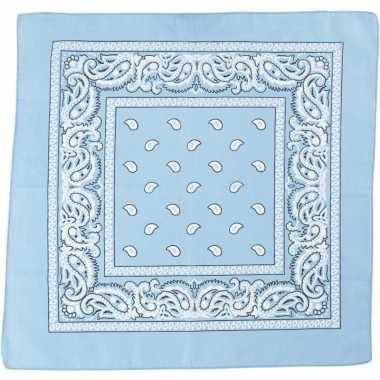 Hobby doek lichtblauw 55x55 cm
