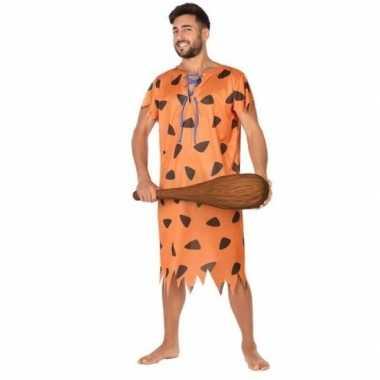 Holbewoner/caveman fred verkleed carnavalskleding voor heren