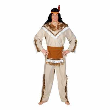 Indiaan adahy verkleed carnavalskleding voor heren