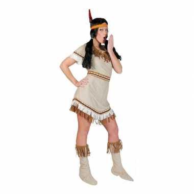 Indiaan alawa verkleed jurkje voor dames