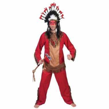 Indiaan lootah verkleed carnavalskleding voor heren
