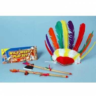Indiaan speelgoed set