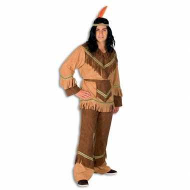 Indianen carnavalskleding heren