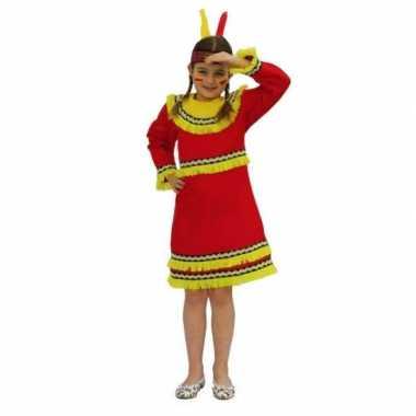 Indianen carnavalskleding voor meiden