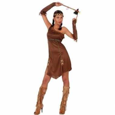 Indianen honovi verkleed pak/carnavalskleding voor dames