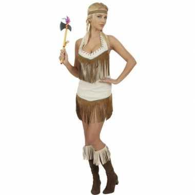 Indianen jurkje carnaval dames