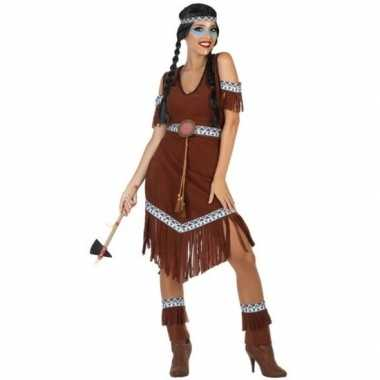 Indianen nahele verkleed pak/carnavalskleding voor dames