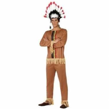 Indianen pallaton verkleed pak/carnavalskleding voor heren