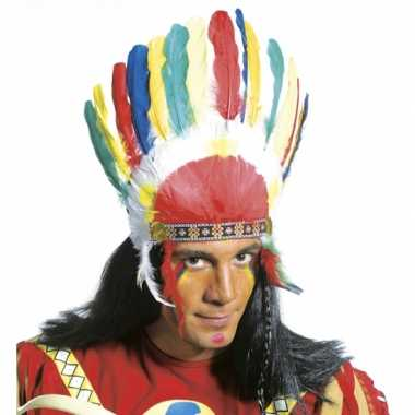 Indianen veren tooi
