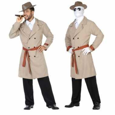 Invisible man/detective verkleed pak/carnavalskleding voor heren