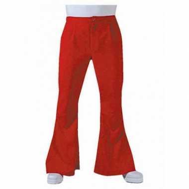 Jaren 60 heren broek rood