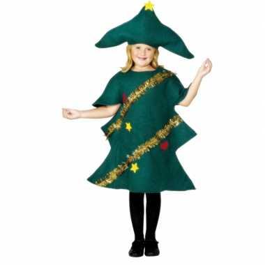 Kerstboom carnavalskledings voor kinderen