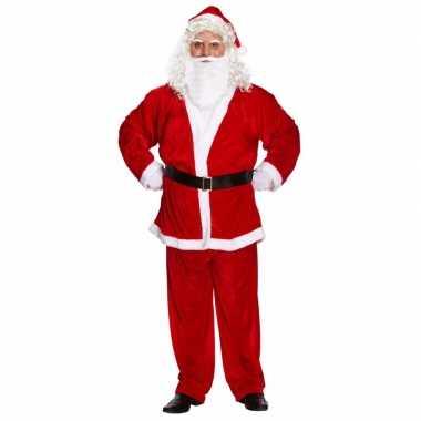 Kerstman carnavalskleding voor heren xxl