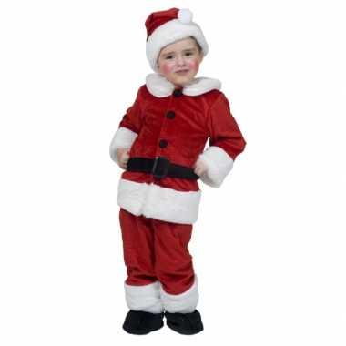 Kerstman carnavalskledings voor kinderen