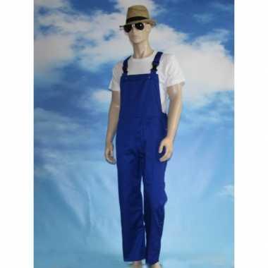 Kinder tuinbroeken blauw