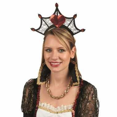 Kroon met hartjes voor dames