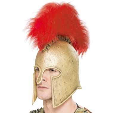 Latex helm voor een romeinse soldaat