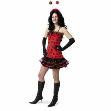Lieveheersbeestje carnavalskleding dames