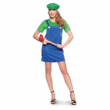 Luigi dames carnavalskleding