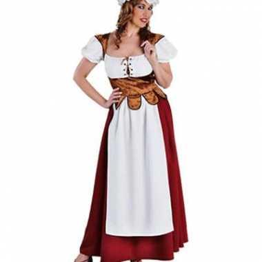 Luxe dames boerinnen jurken