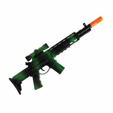 Marinier/militair speeldgoed verkleed wapens machinegeweer